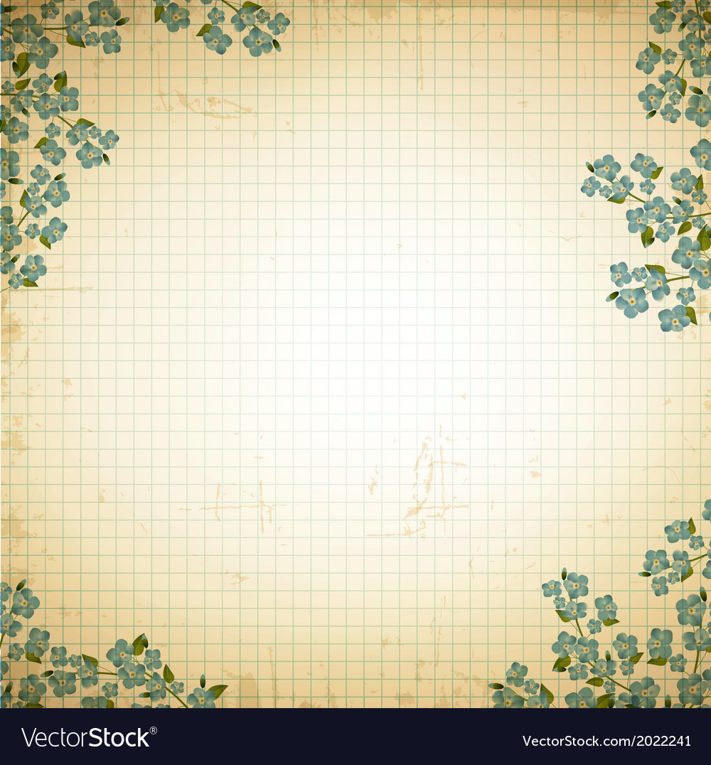 Vintage notepad notebook vector | Price: 1 Credit (USD $1)