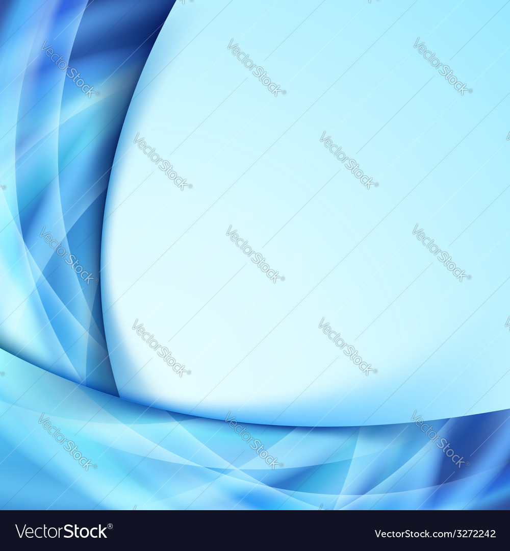 Abstract blue glow lines border abstraction vector | Price: 1 Credit (USD $1)