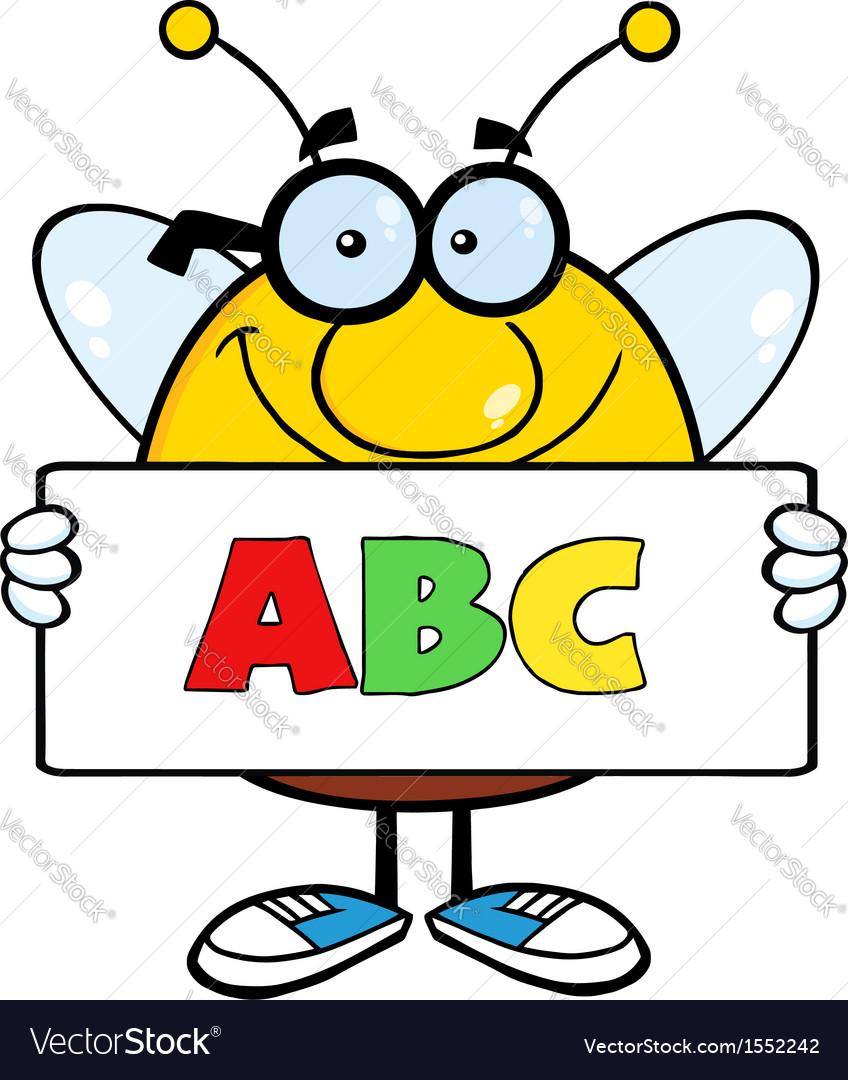 Bee cartoon vector | Price: 1 Credit (USD $1)