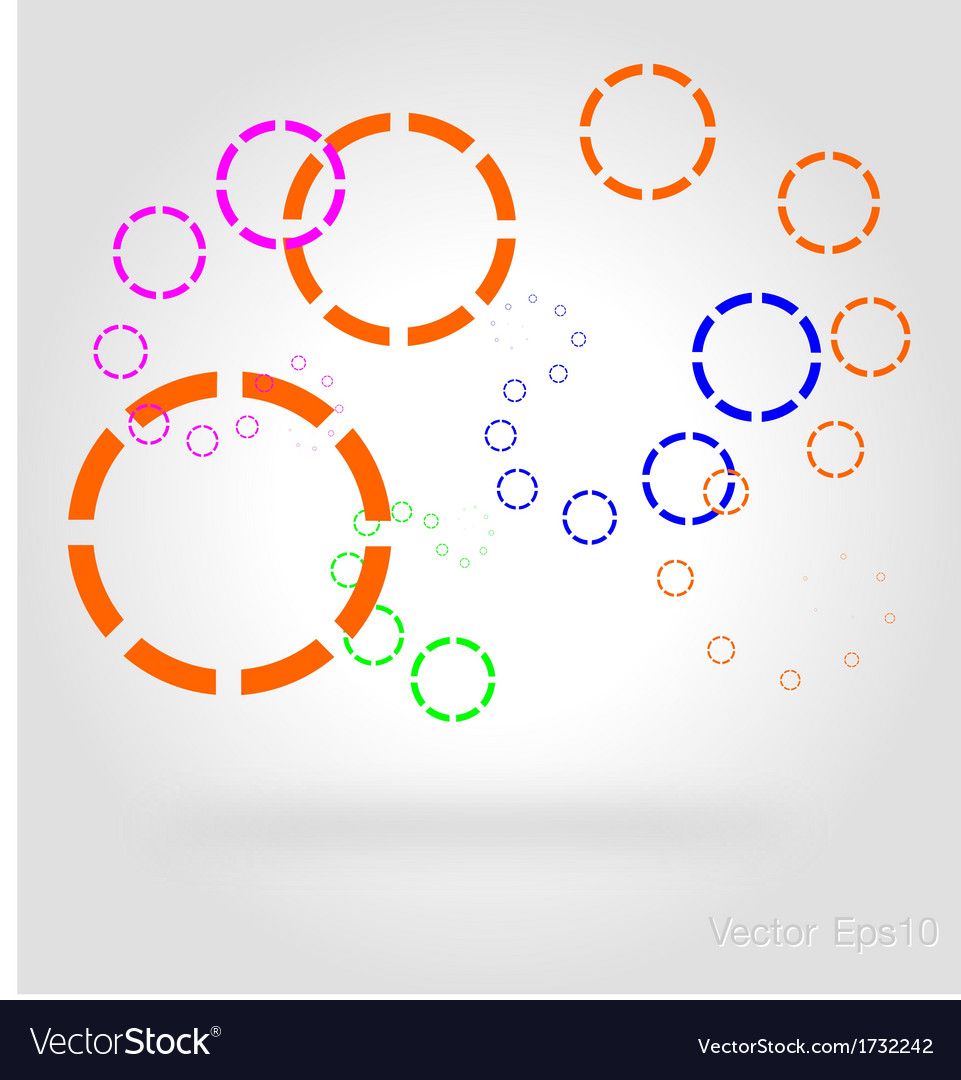 Connected by a colored cell graphic vector   Price: 1 Credit (USD $1)