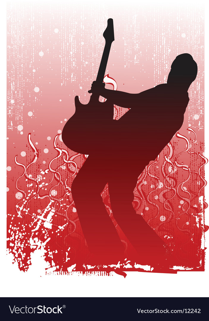 Guitar illustration vector | Price: 1 Credit (USD $1)