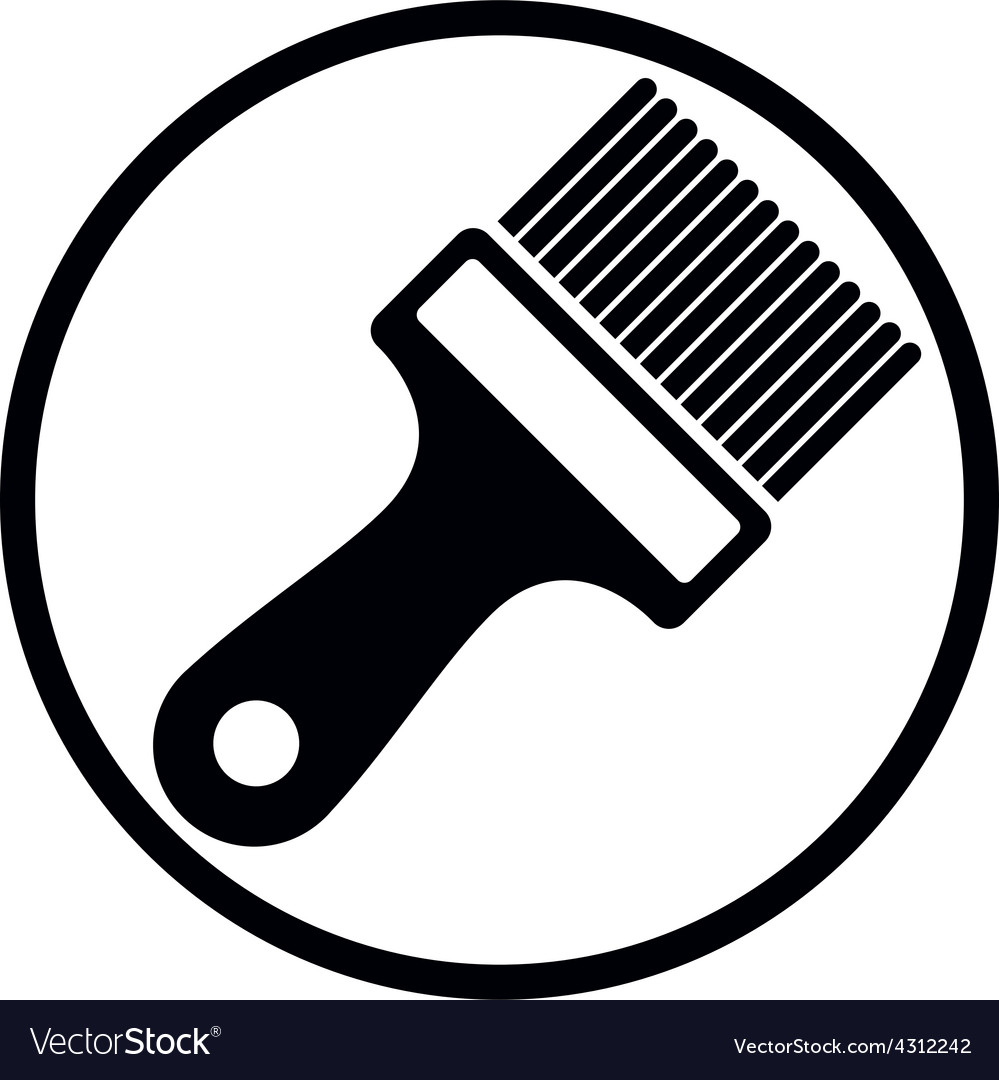 Renovation and repair instrument paint brush vector | Price: 1 Credit (USD $1)