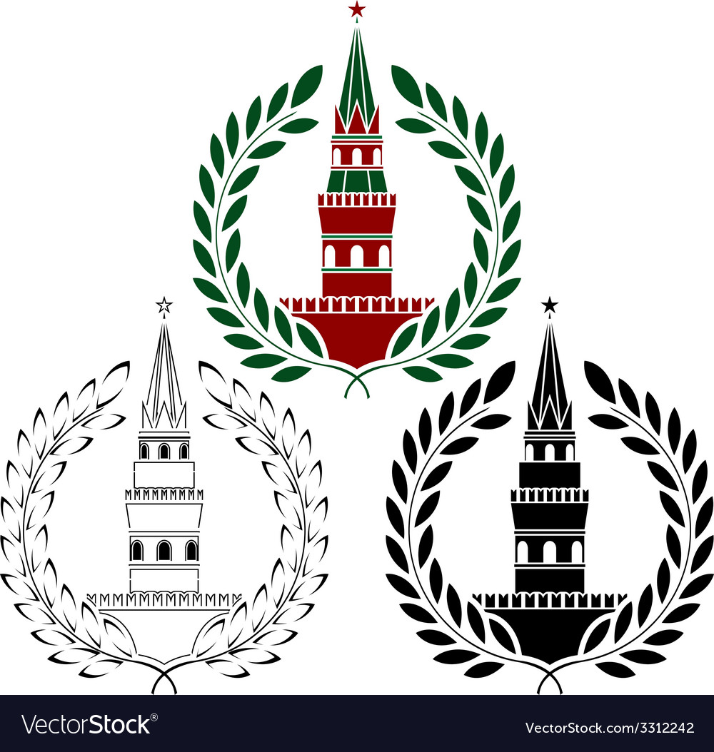 Set of russian towers vector | Price: 1 Credit (USD $1)