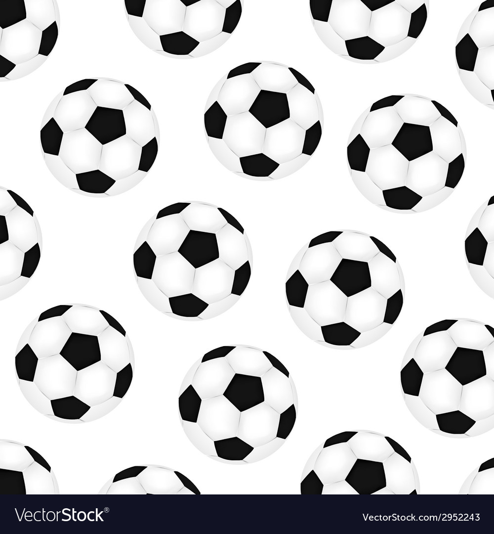 Background soccer balls vector | Price: 1 Credit (USD $1)
