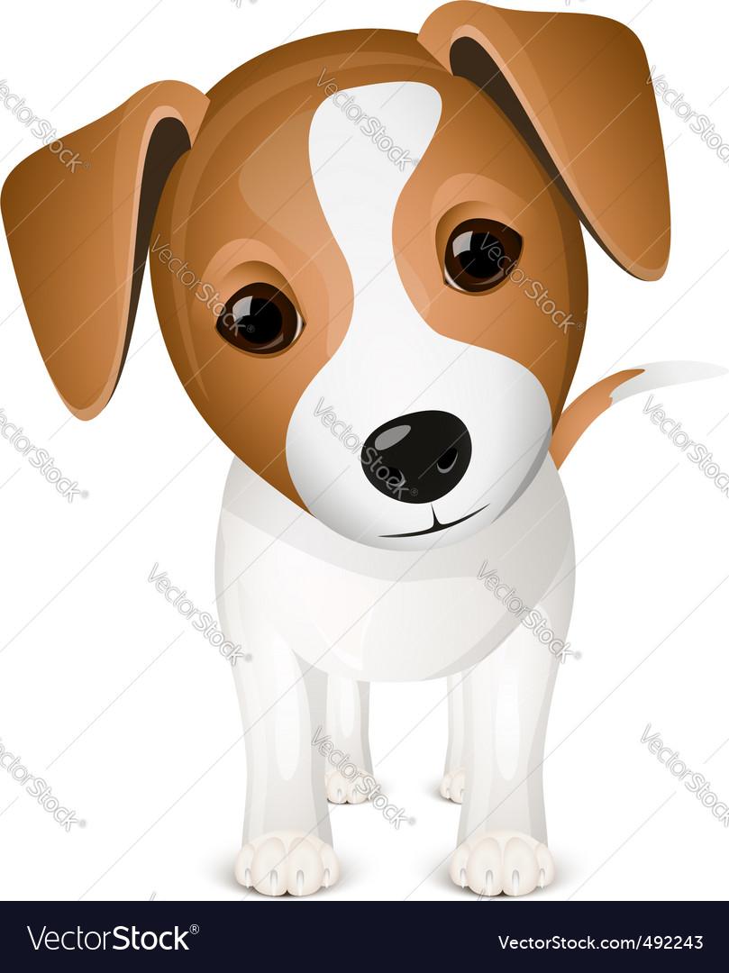 Cartoon dog vector | Price: 3 Credit (USD $3)
