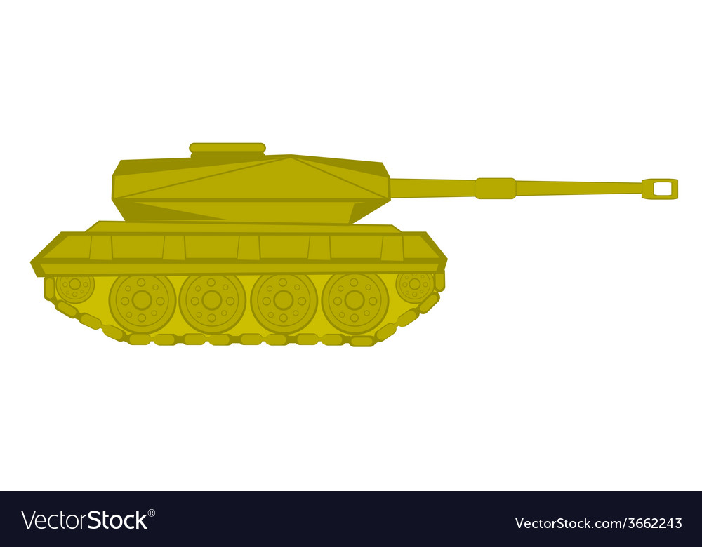The tank vector | Price: 1 Credit (USD $1)