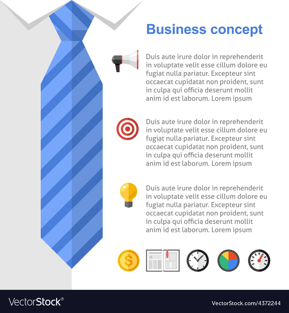 Business strategy presentation slide vector | Price: 1 Credit (USD $1)