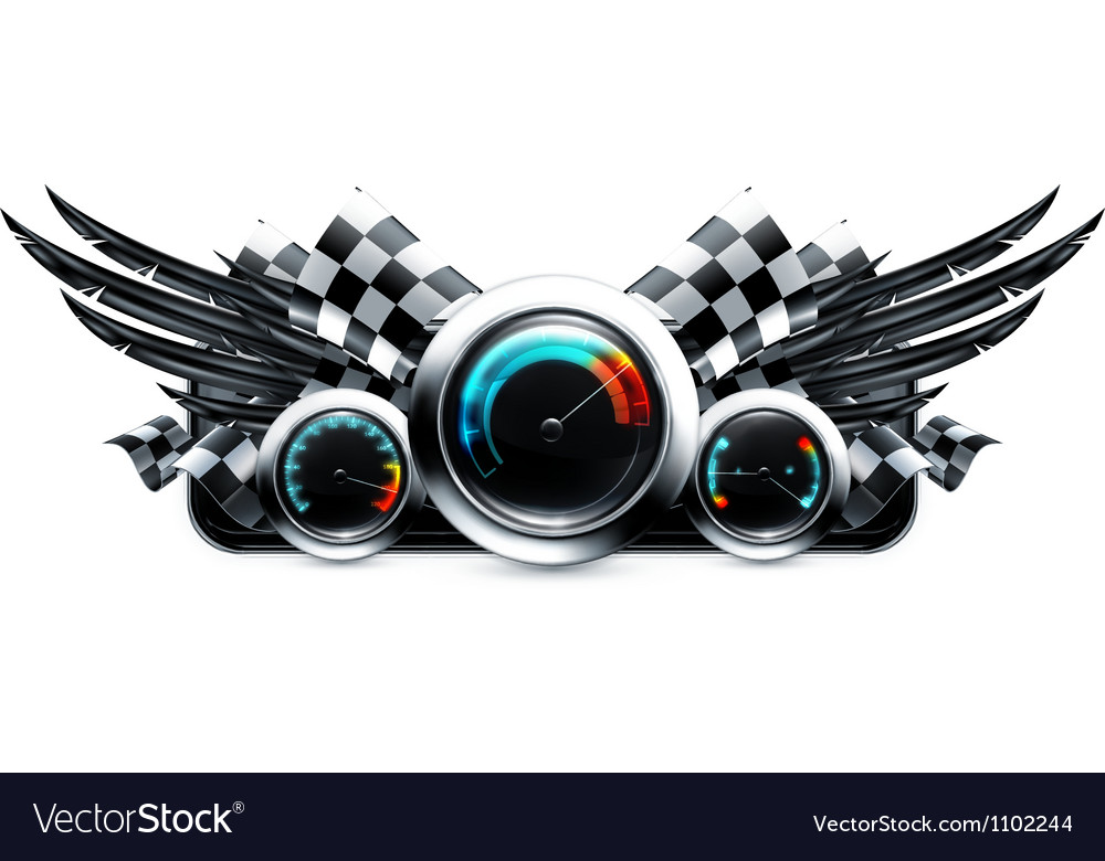 Dashboard emblem vector | Price: 1 Credit (USD $1)