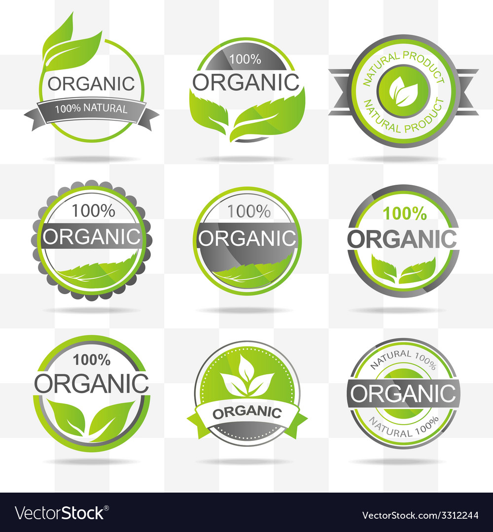 Organic elements vector | Price: 1 Credit (USD $1)