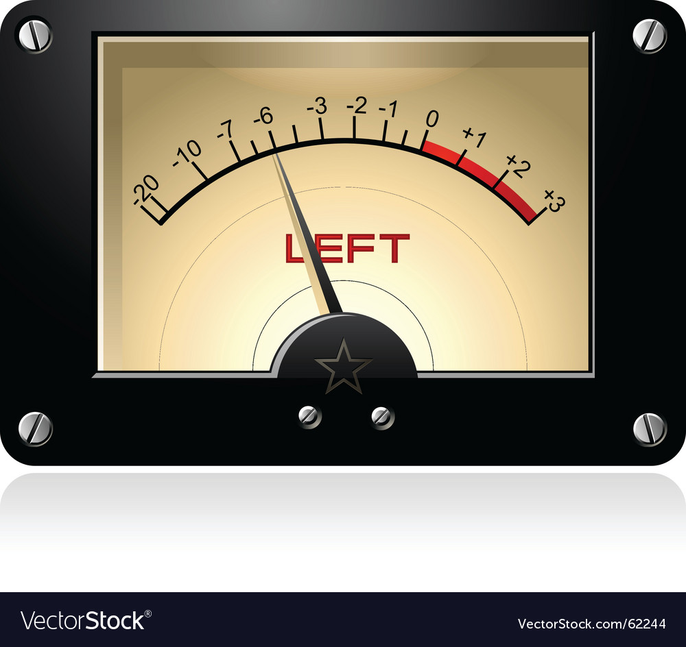 Signal meter vector | Price: 1 Credit (USD $1)