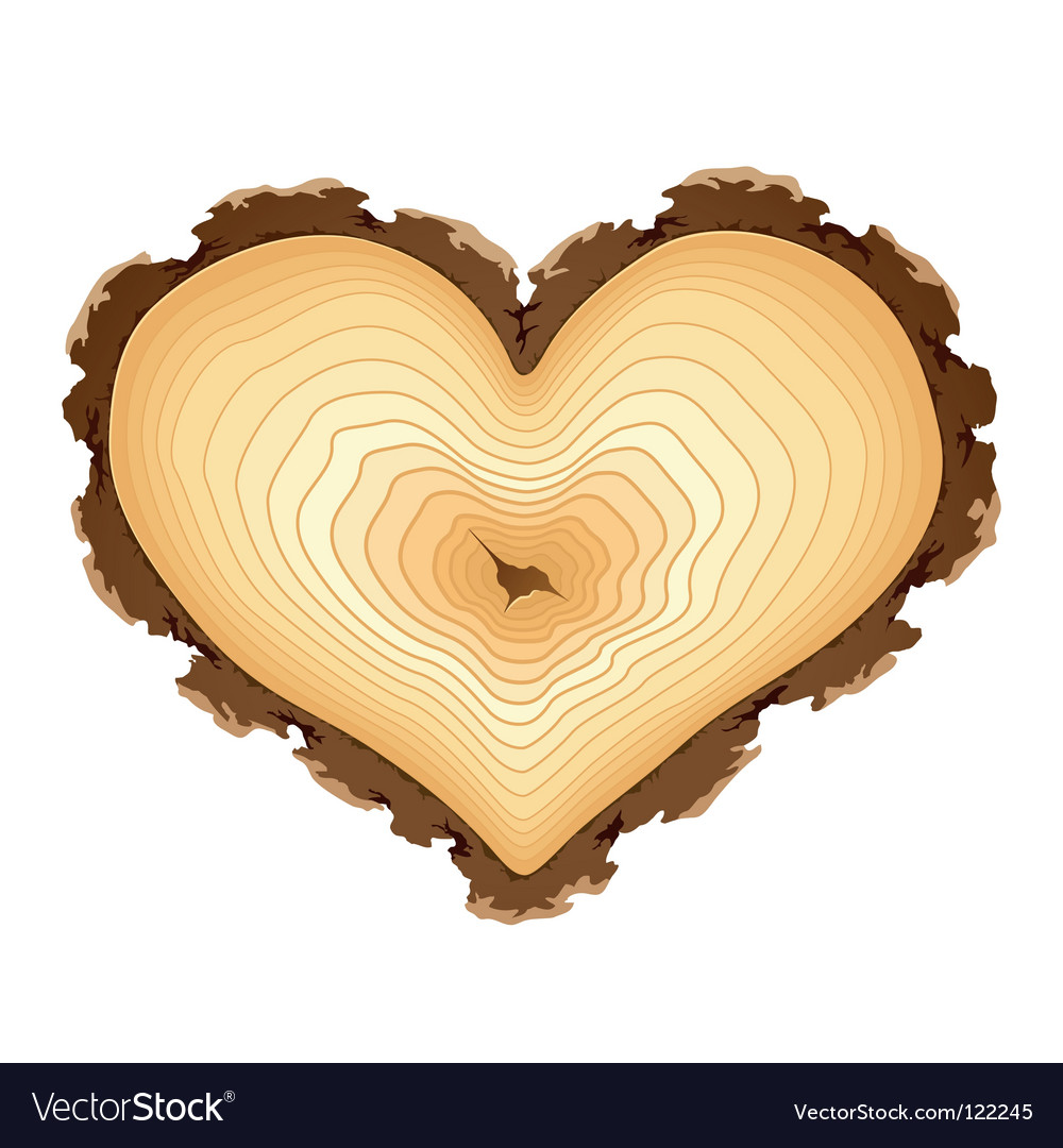 Heart shape design element vector | Price: 1 Credit (USD $1)