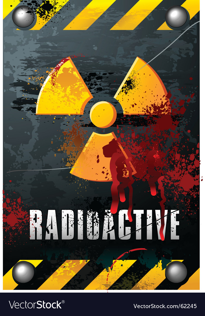 Radioactivity plate vector | Price: 1 Credit (USD $1)
