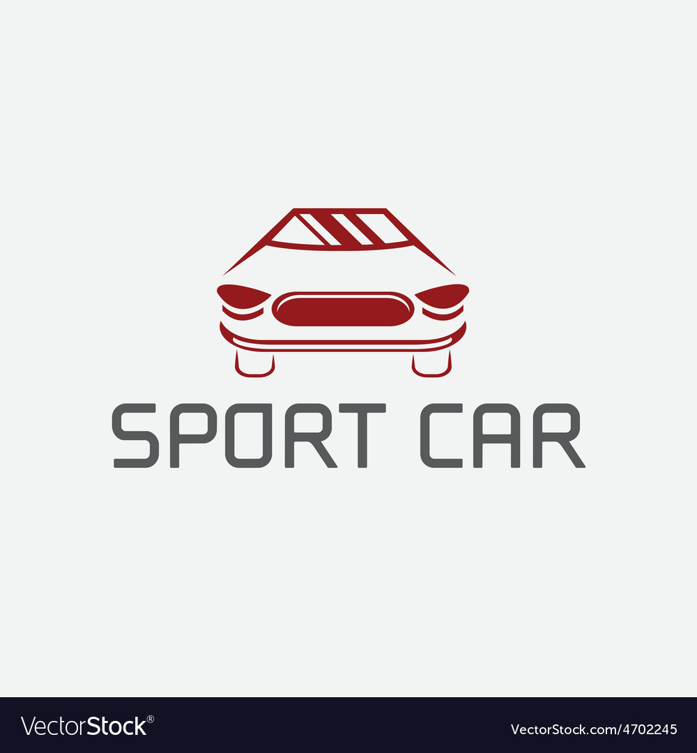 Sport car abstract design template vector | Price: 1 Credit (USD $1)
