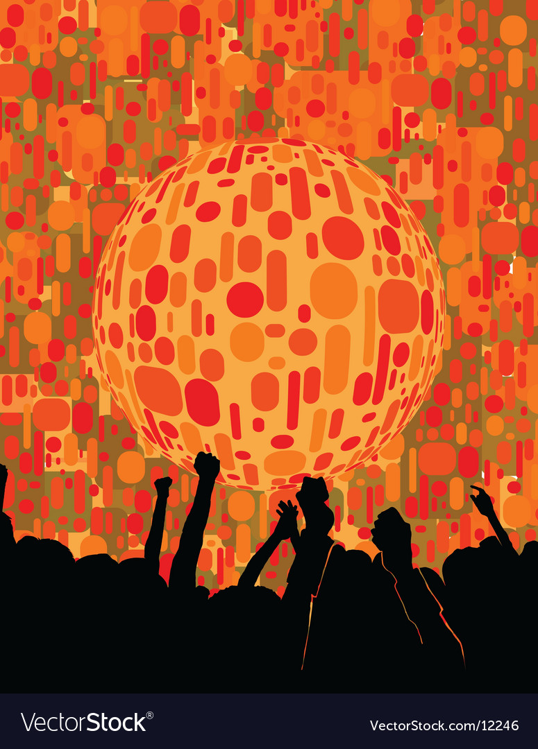 Chic urban nightclub graphic vector | Price: 1 Credit (USD $1)