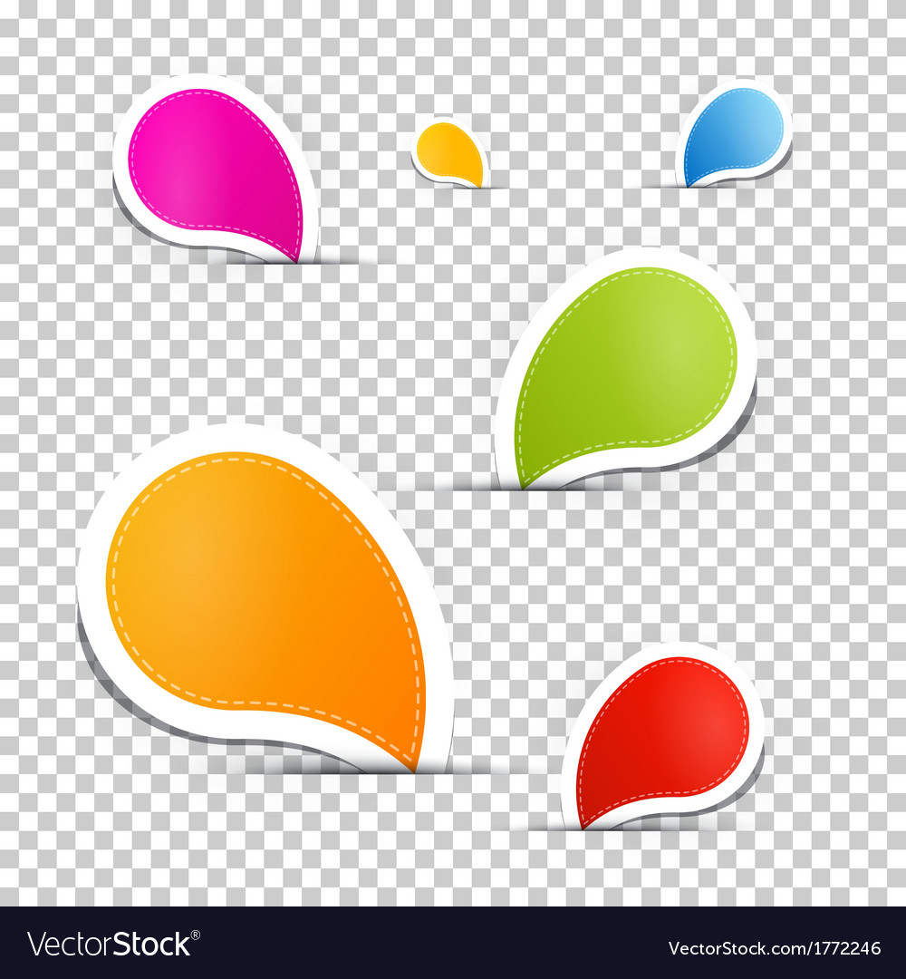 Colorful labels tags set vector | Price: 1 Credit (USD $1)
