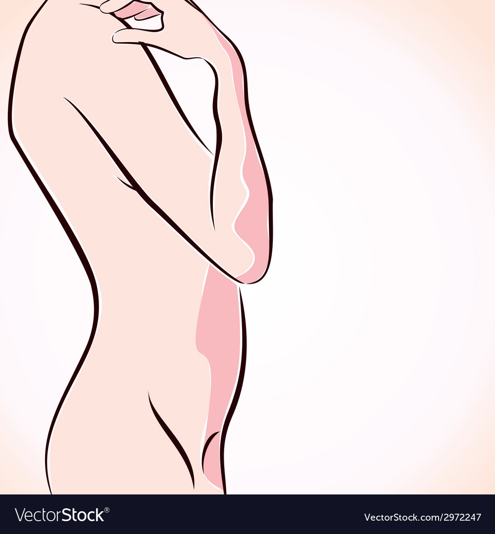 Abstract naked women stock vector | Price: 1 Credit (USD $1)