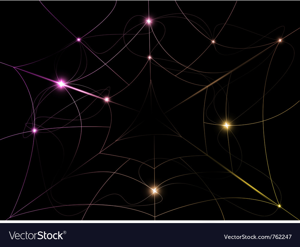 Beautiful color abstract vector