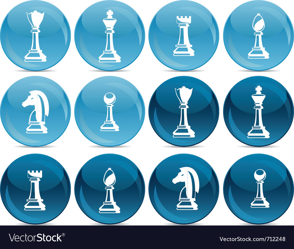 Chess pieces vector | Price: 1 Credit (USD $1)
