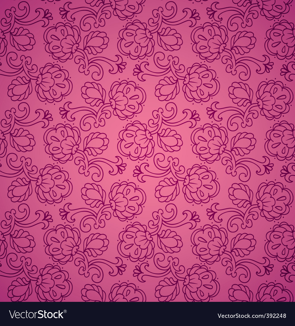 Floral background patter vector | Price: 1 Credit (USD $1)
