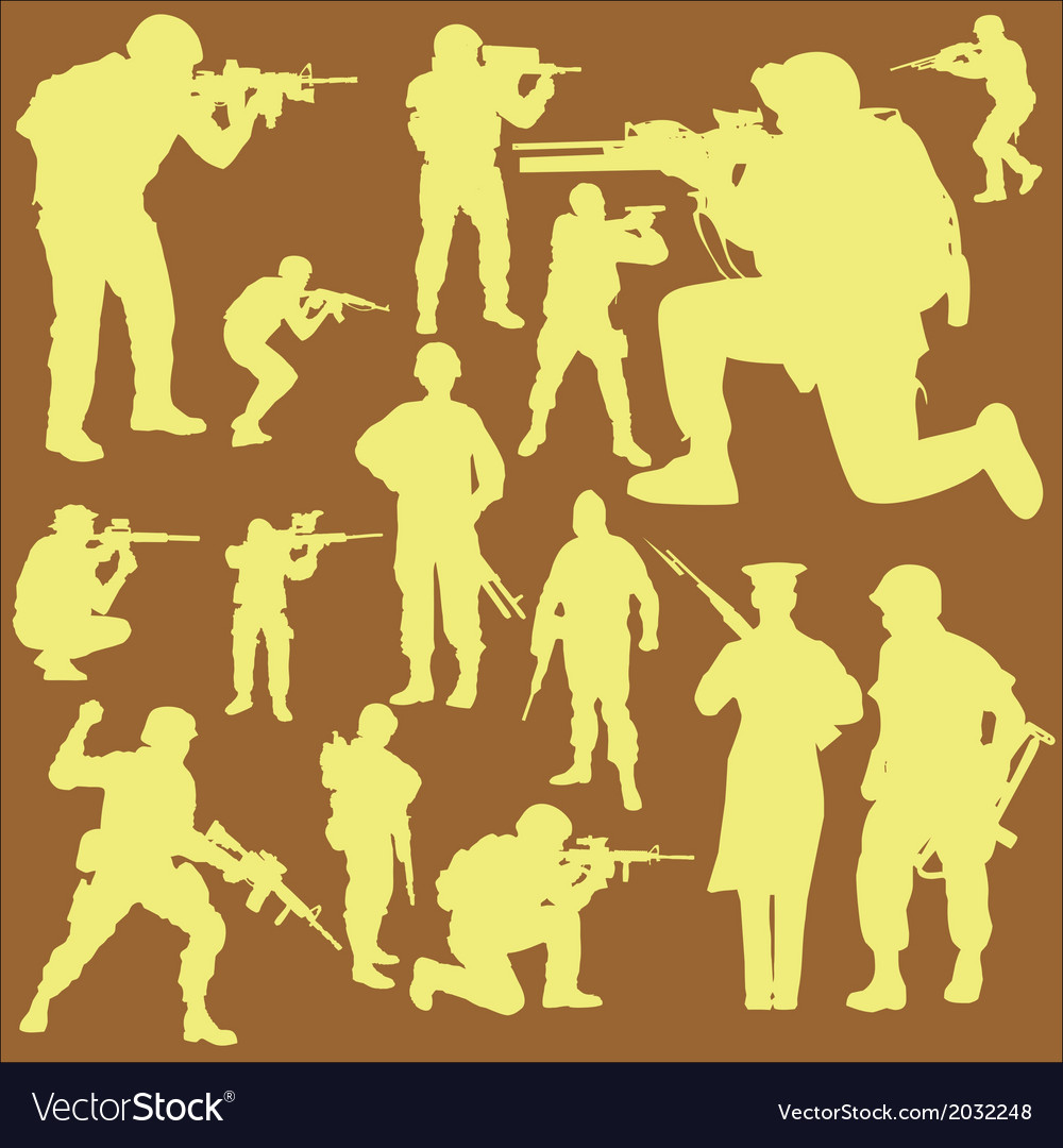 Military digital clipart 2 vector | Price: 1 Credit (USD $1)