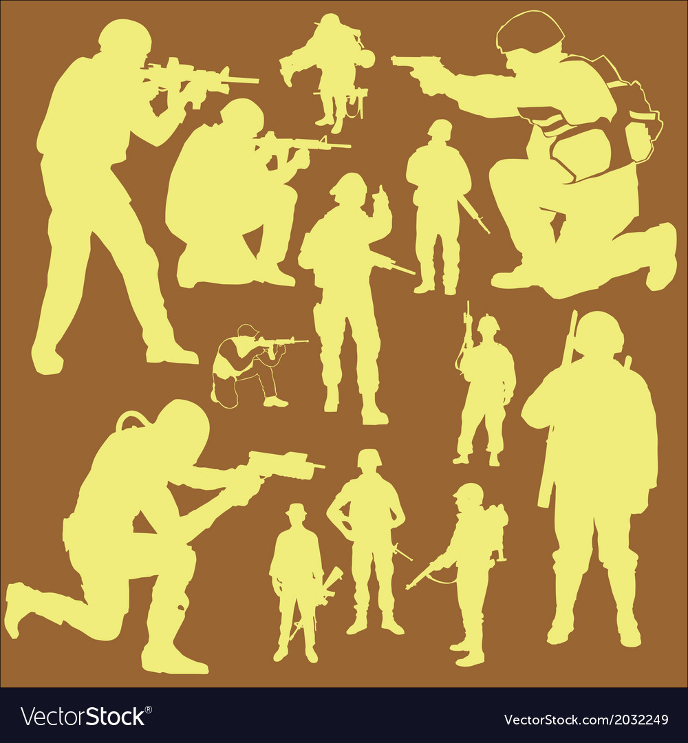 Army 2 vector | Price: 1 Credit (USD $1)