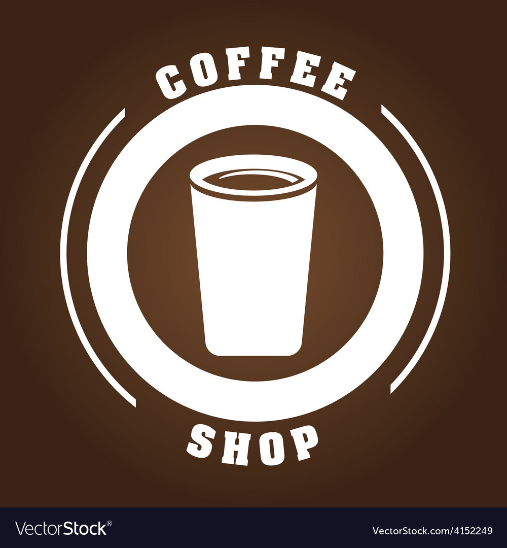 Coffee shop vector | Price: 1 Credit (USD $1)