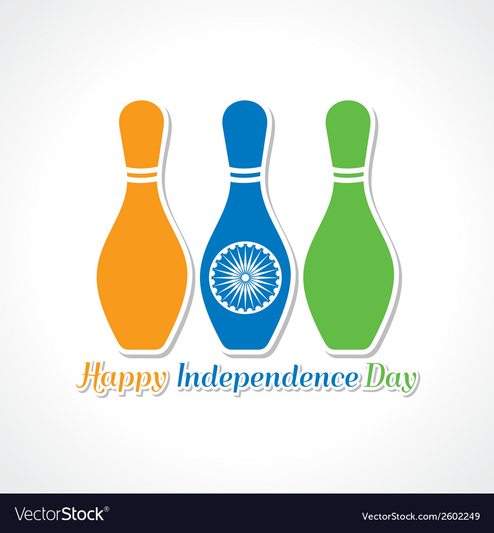Happy independence day greeting card vector | Price: 1 Credit (USD $1)