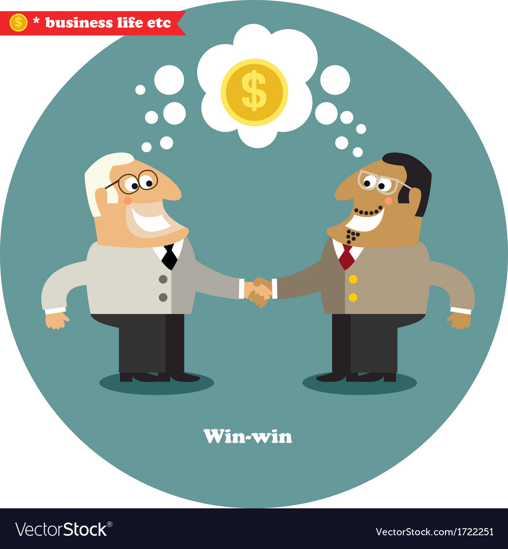 Business handshake big deal vector | Price: 1 Credit (USD $1)