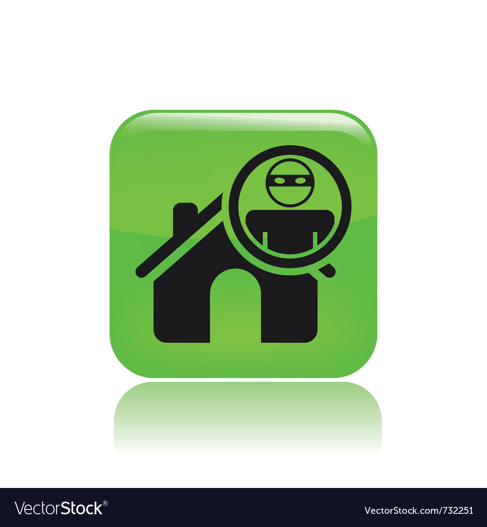 Thief apartments icon vector | Price: 1 Credit (USD $1)