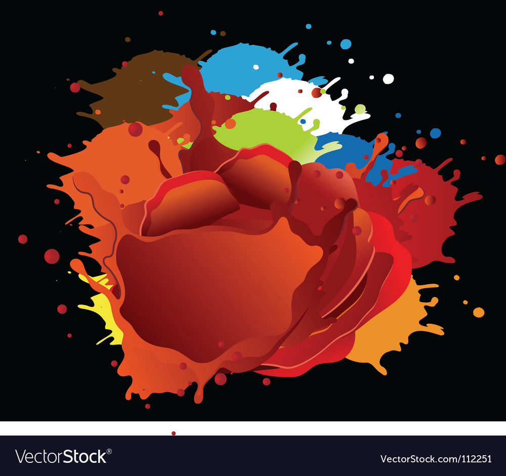 Wet paint vector | Price: 1 Credit (USD $1)