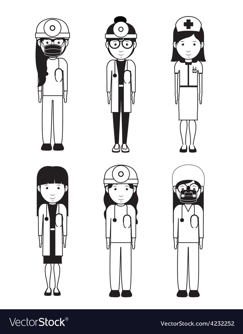Health professional design vector | Price: 1 Credit (USD $1)