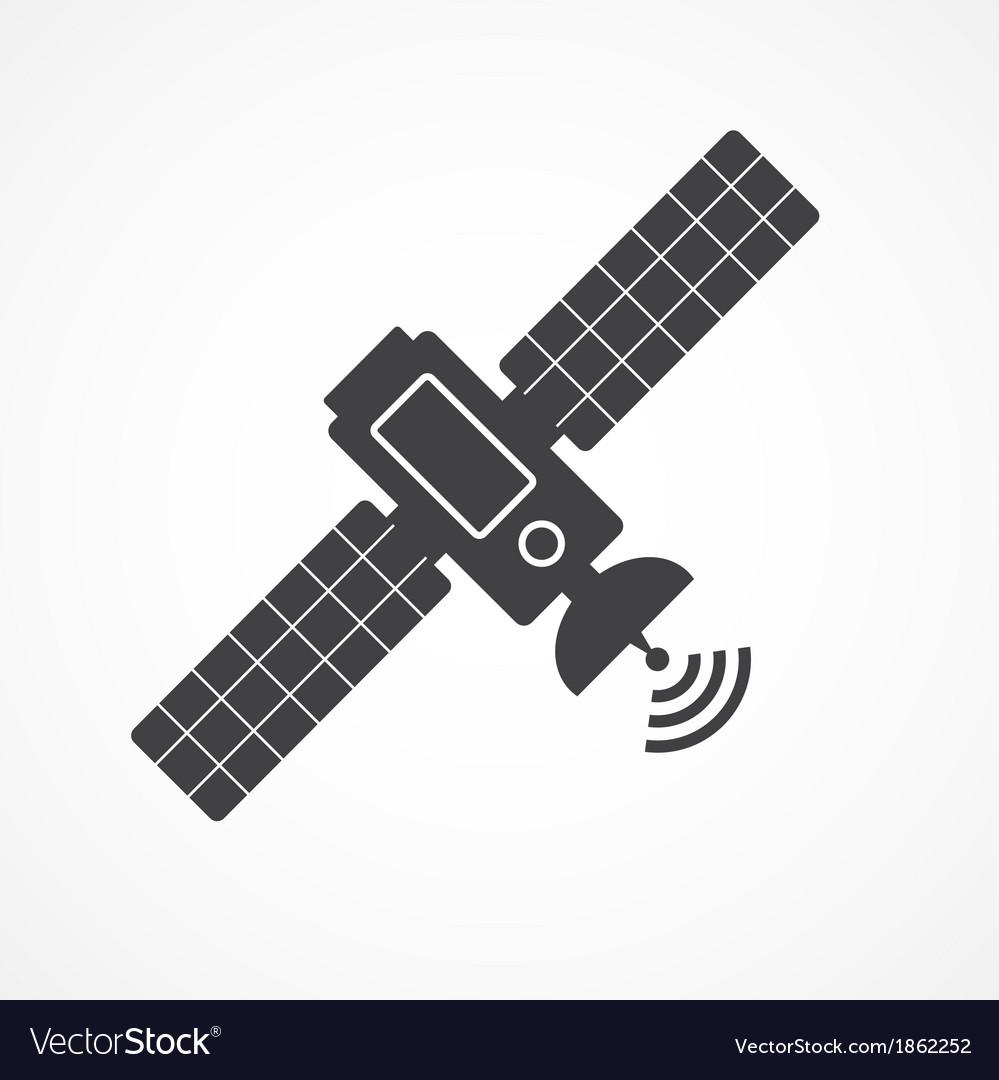 Satellite icon vector | Price: 1 Credit (USD $1)