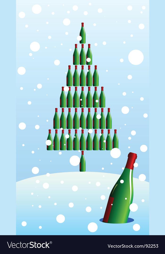 Bottle tree vector | Price: 1 Credit (USD $1)