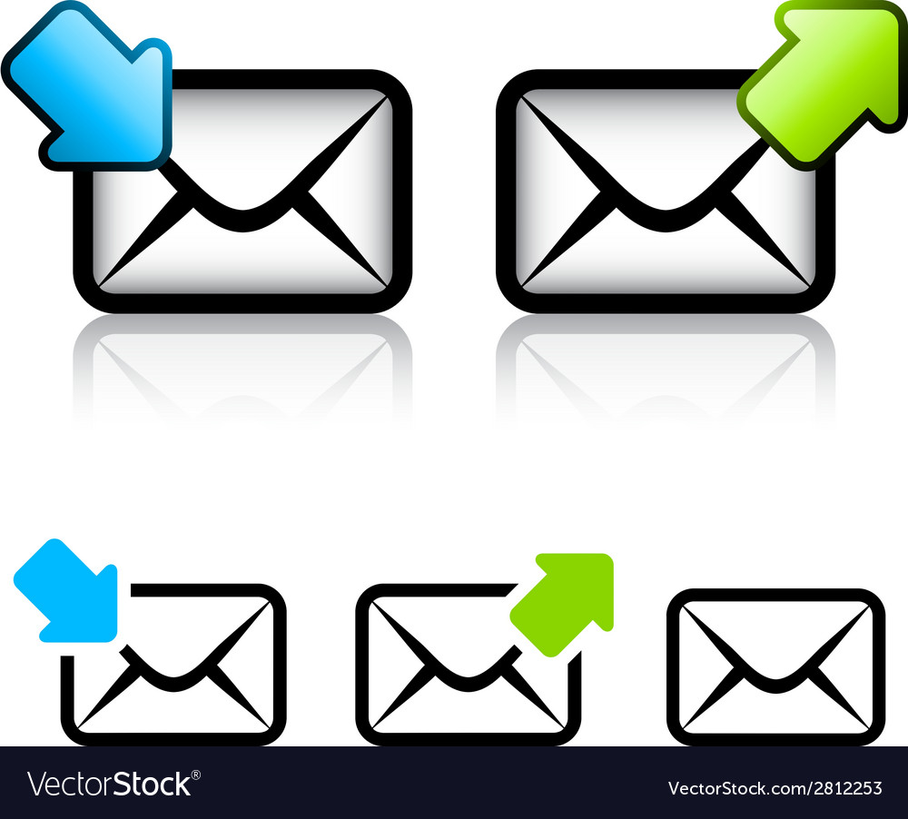 E-mail envelope icon vector | Price: 1 Credit (USD $1)