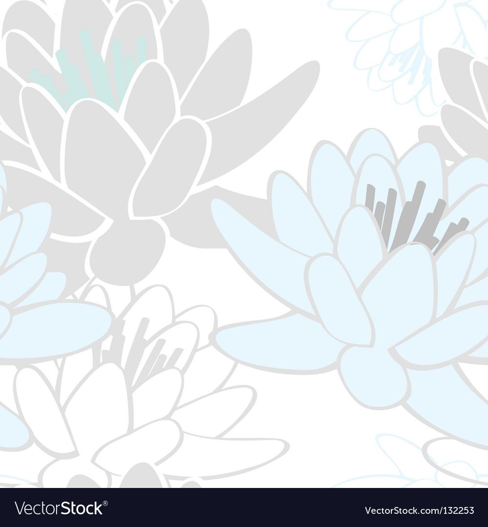 Lotus pattern vector | Price: 1 Credit (USD $1)