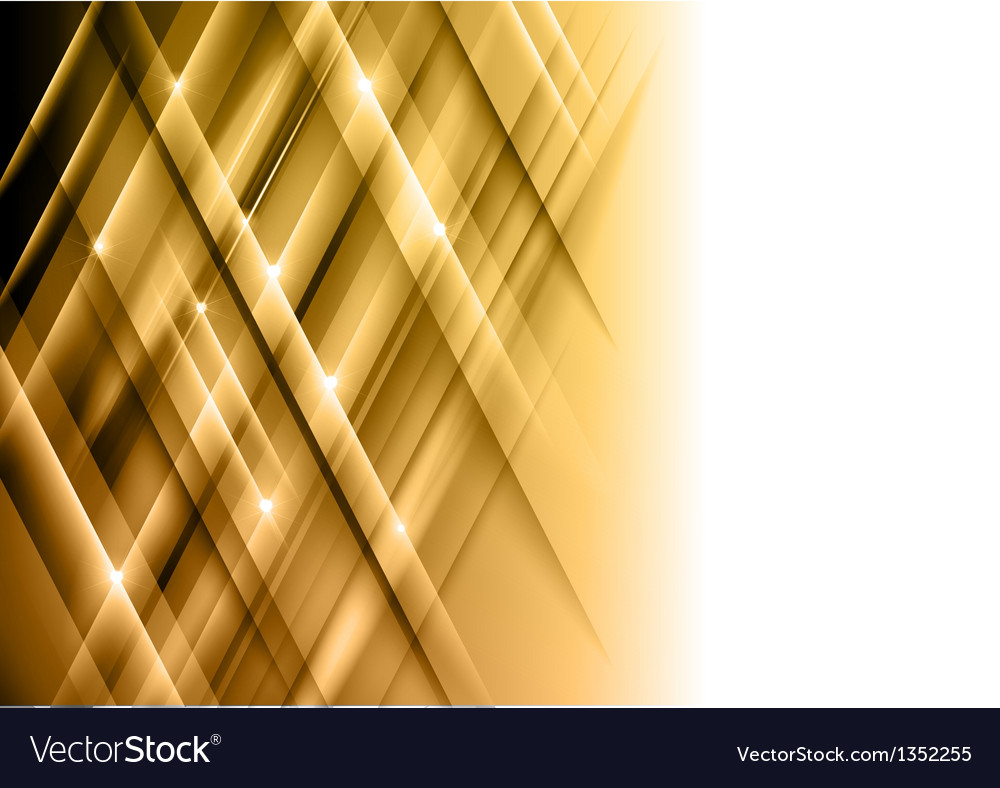 Abstract lines gold cross vector | Price: 1 Credit (USD $1)