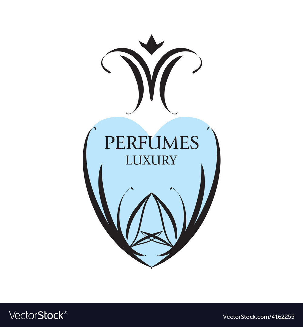 Abstract logo with patterns for perfumery vector | Price: 1 Credit (USD $1)