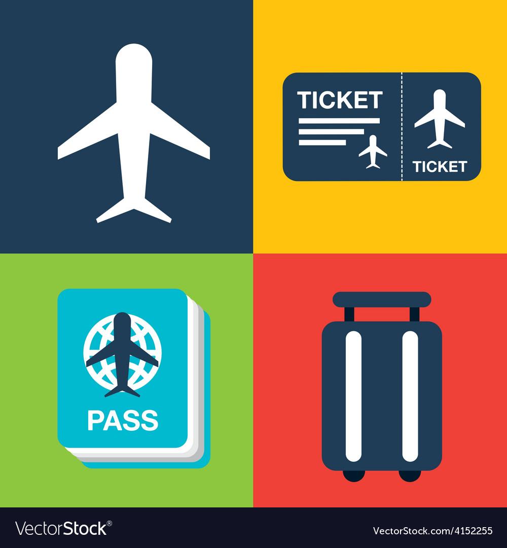 Airport terminal vector   Price: 1 Credit (USD $1)