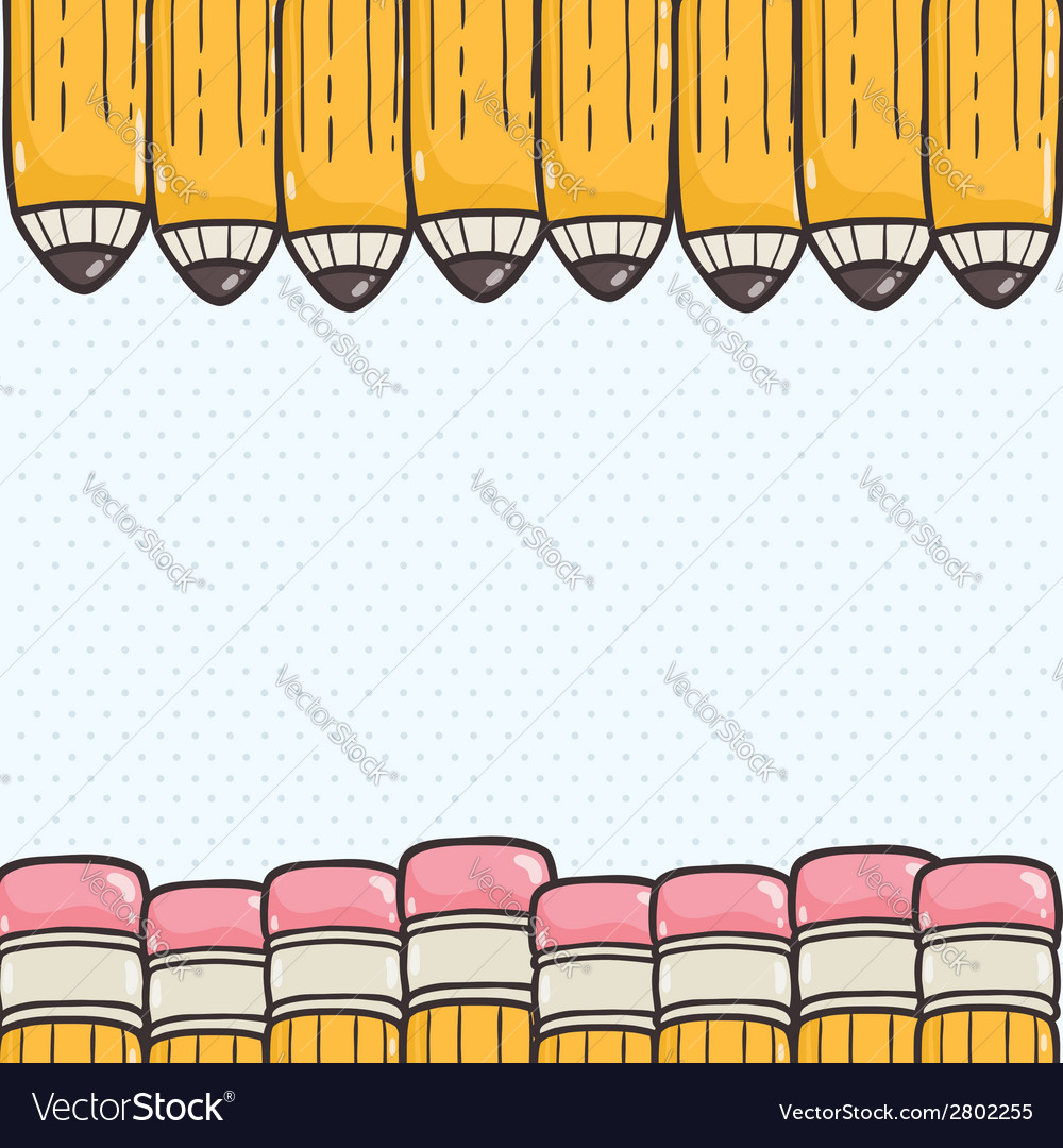 Cute back to school background vector | Price: 1 Credit (USD $1)