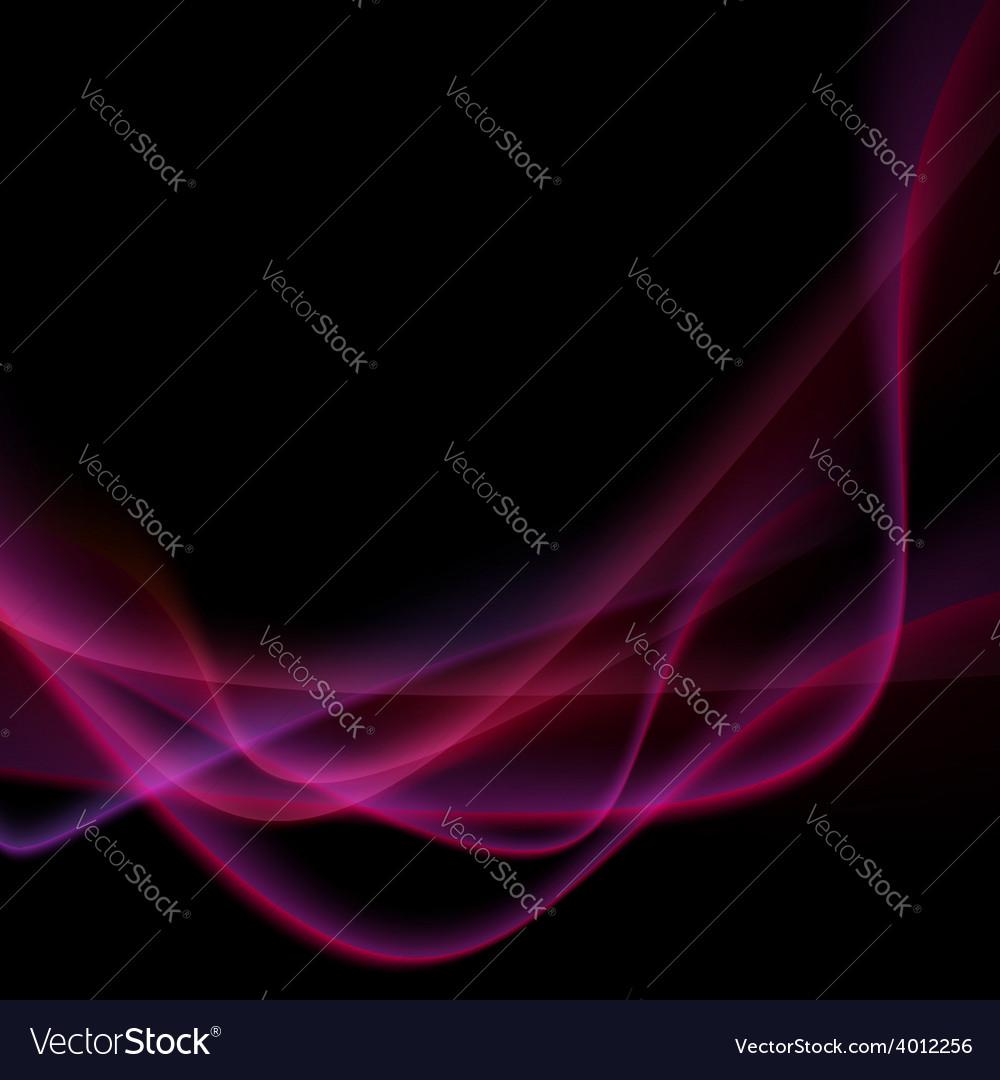 Bright neon swoosh speed wave background vector | Price: 1 Credit (USD $1)