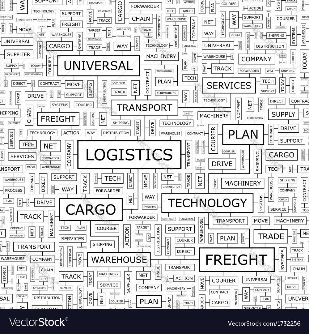 Logistics vector | Price: 1 Credit (USD $1)