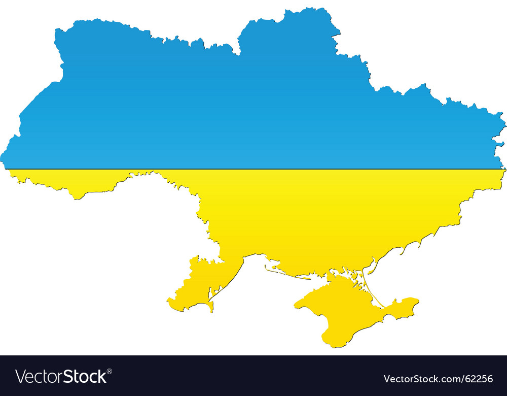 Map of ukraine vector | Price: 1 Credit (USD $1)