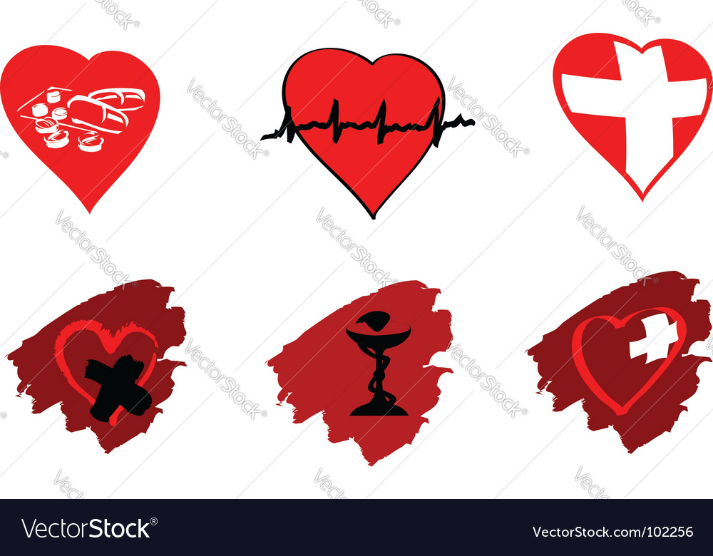 Medicine icons and signs vector | Price: 1 Credit (USD $1)