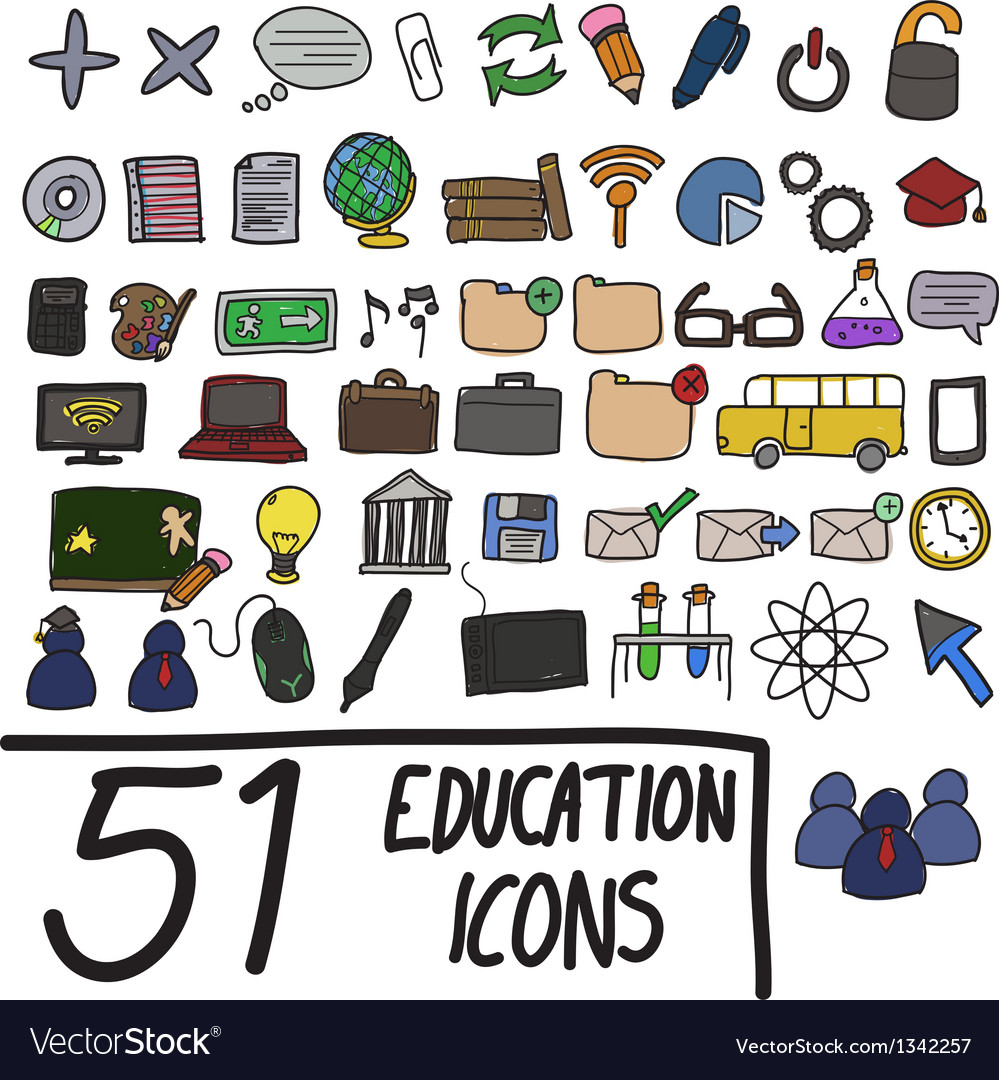 51 icons color vector | Price: 3 Credit (USD $3)