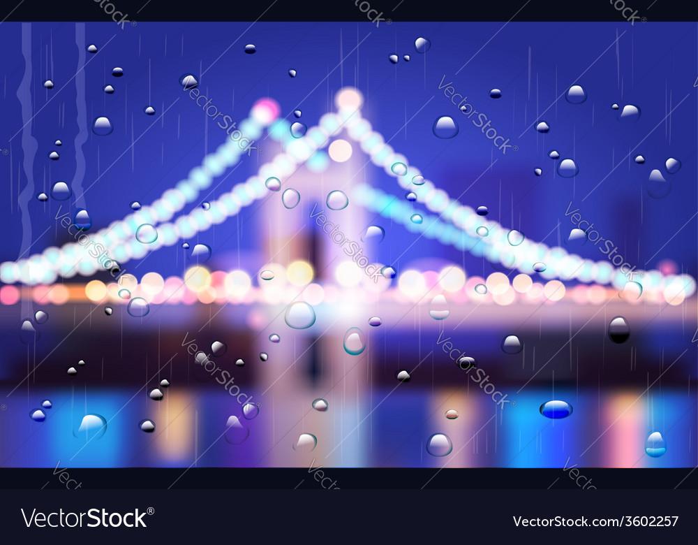 City bridge vector | Price: 1 Credit (USD $1)