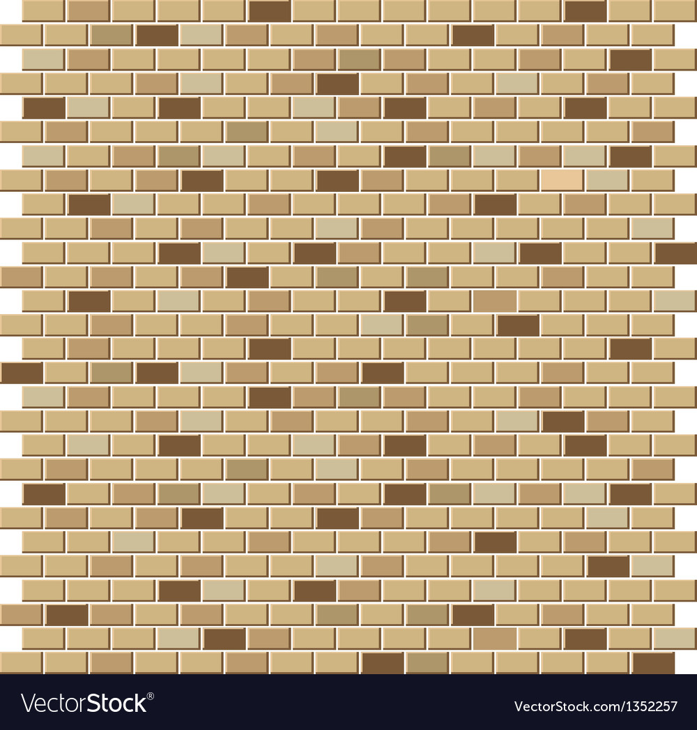 Color brick wall textures collection vector | Price: 1 Credit (USD $1)