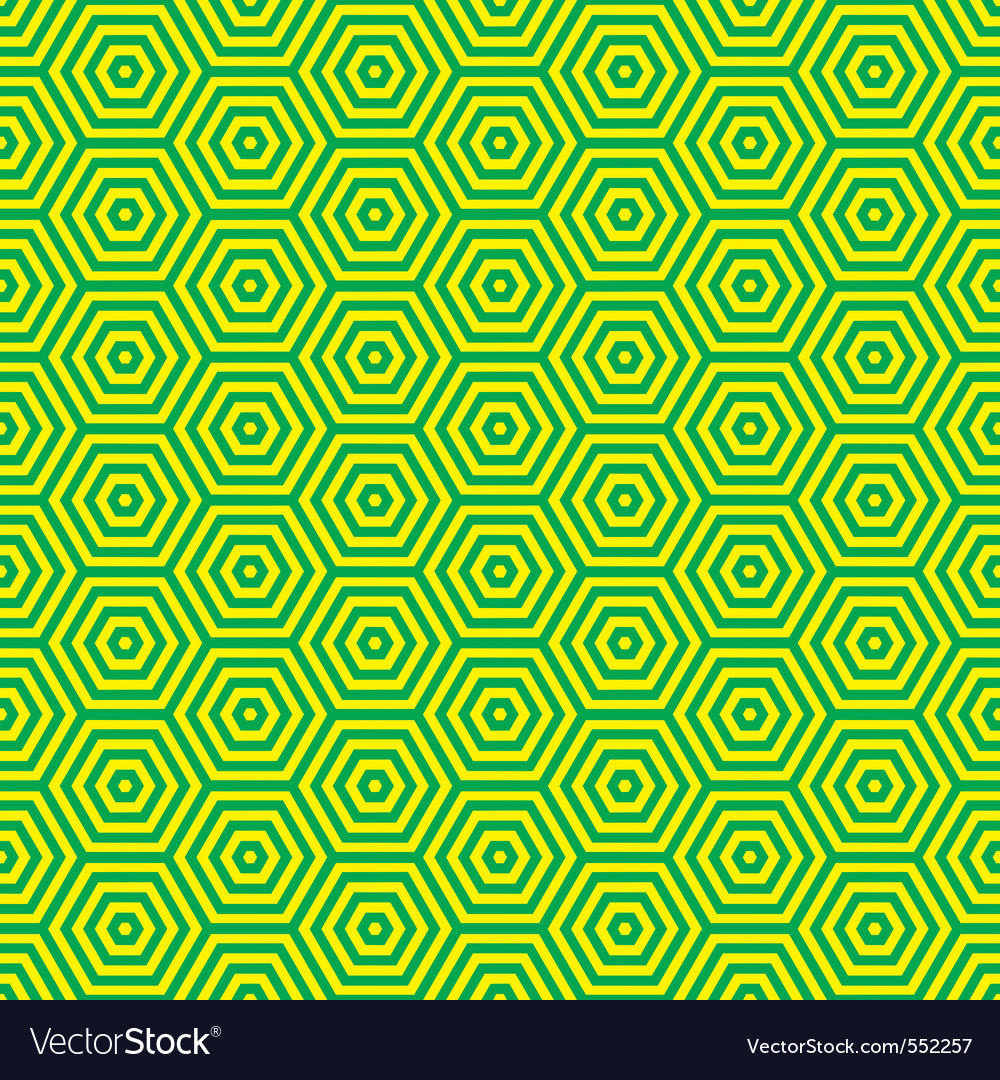 Green and yellow retro seventies inspired wallpape vector | Price: 1 Credit (USD $1)