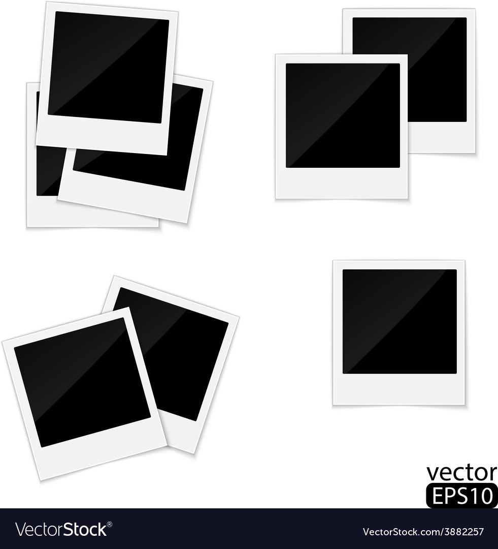Polaroid photo frame vector   Price: 1 Credit (USD $1)