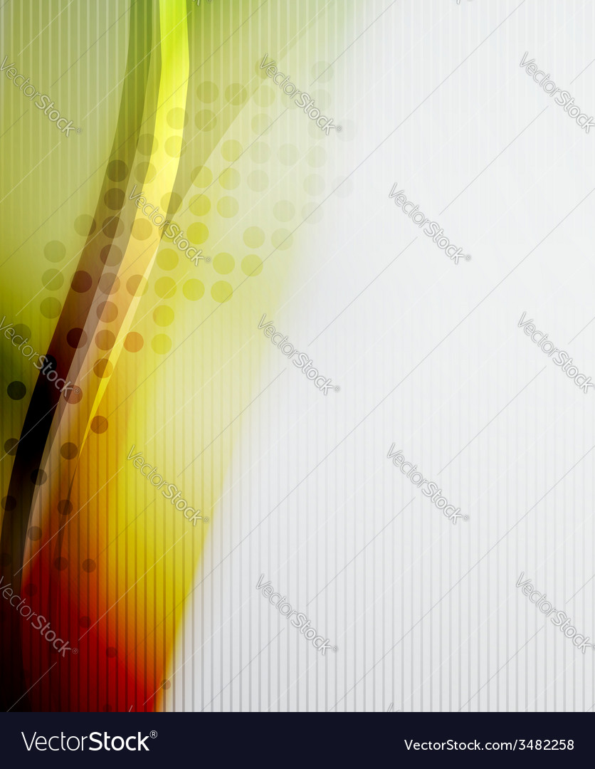 Orange business abstract layout vector | Price: 1 Credit (USD $1)