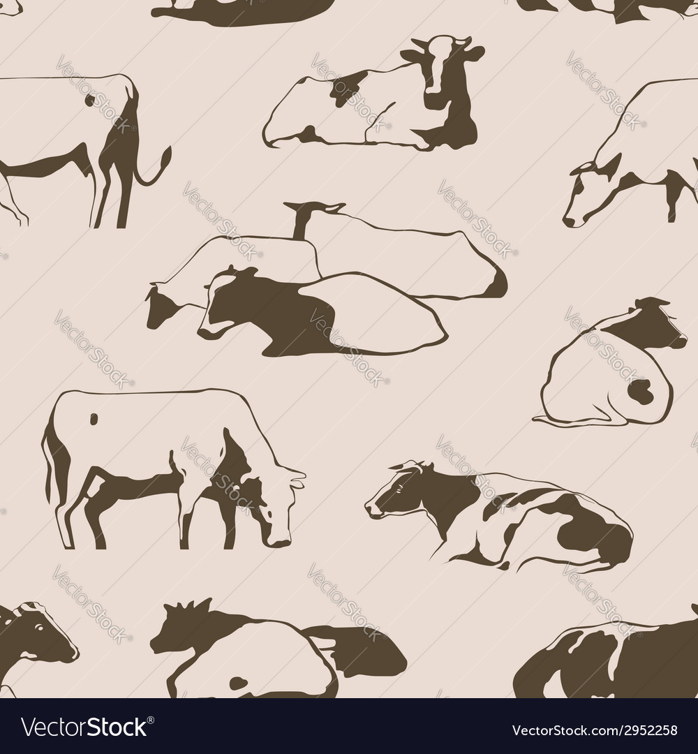 Seamlesscows vector | Price: 1 Credit (USD $1)